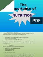 nutrition vot