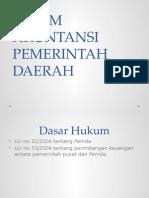 Sistem Akuntansi Pemerintah Daerah