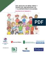 LA SITUACION ESCOLAR DE NINOS. NINAS Y ADOLESCENTES CON DISCAPACIDAD - GI - PARAGUAY - PORTALGUARANI