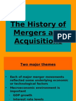 The History of Mergers and Acquisitions 28th Jan
