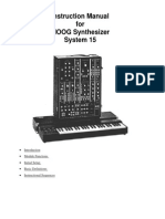 Moog15 Instructionmanual.ps