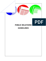 Pr Guidelines