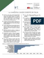 Principali Cause Di Morte in Italia - 03-Dic-2014 - Testo Integrale