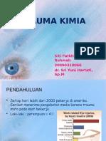 Trauma Kimia Mata Siti