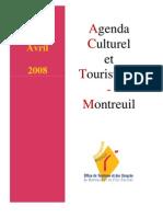 Agenda culturel et touristique de Montreuil - mars et avril 2008