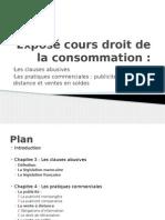 Exposé Cours Droit de La Consommation (1)