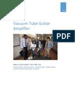 Vacuum Tube Amplifier Report
