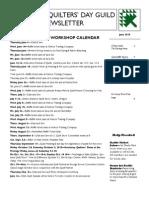 KQG Newsletter June 2015