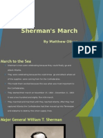 shermans march to the sea power point