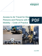 Access to Air Travel for Disabled