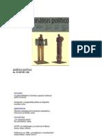 Analisis Politico No 29 Sep Dic 1996