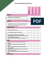 Formato de Evaluación 360 para ejecutivos
