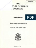 Modern Bearing Design and Practice