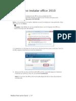 Como Instalar Office Proyect y Visio 2010