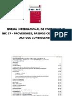 NIC 37 Provisiones tingenciay Cons- Carlos Paredes