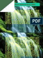 Los Recursos Hídricos en El Perú