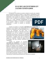 Desarrollo de Los Incendios en Espacios Confinados
