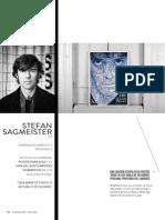 El Diseño Manda Stefan Sagmeister