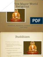 five major religions