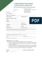 Parental Consent Form 2015