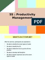 5S Productivity Management