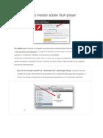Como Instalar Adobe Flash Player,Adobe reader, Winzip y Winrar
