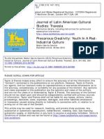 Nestor Garcia Canclini- Latin American Cultural Studies Review