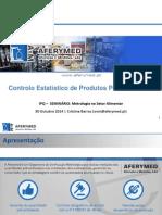 Controlo Estatistico Pre-Embalados