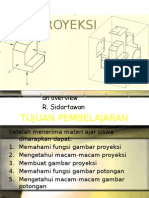 Proyeksi gambar