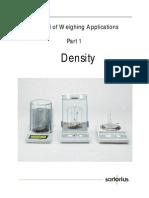 Density Determination Manual