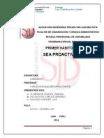 Habito 1 - Sea Proactivo