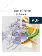 Design of Pelton Turbine
