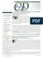 CD Newsletter February 2014 APSA-libre