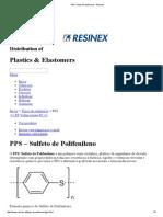 PPS _ Tipos de Polímeros - Resinex