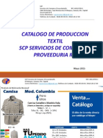 Catalogo Textil SCP Junio 2015