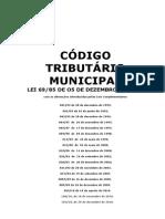 Código tributário de Videira-SC