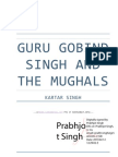 Kartar Singh - Guru Gobind Singh And The Mughals