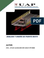 Analisis y Diseño de Puente Mixto Julio Huaman