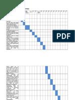 Cronograma epidemilogía