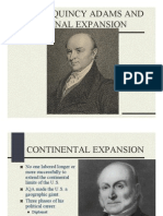 John Quincy Adams and National Expansion