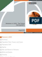 Romania in 2030. the Future Demographic