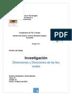 Trabajo 01 - Dimensiones y Direcciones de Las Tics Verdes