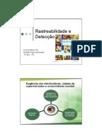Rastreabilidade e Detecção no Sector Alimentar