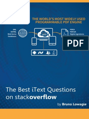 The Best iText Questions on stackoverflow | Portable