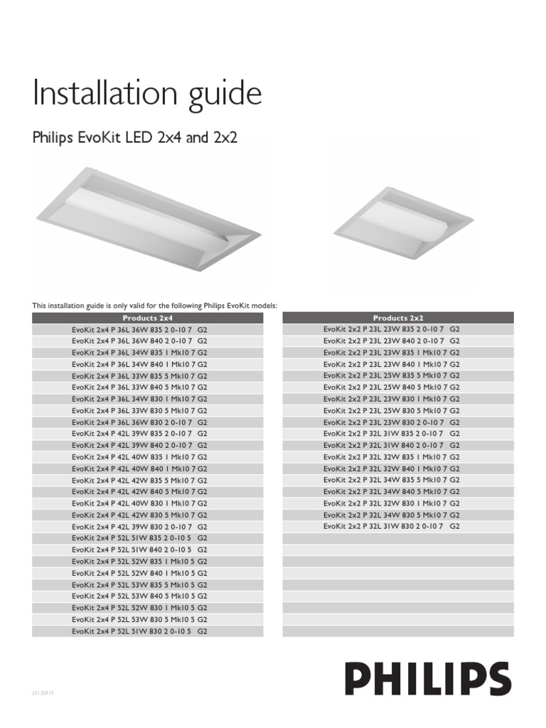 Installation Guide1 Electrical Wiring Electrician Philips Bodine Diagram