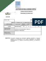 09-Derecho y Técnicas De La.planeacion Economica