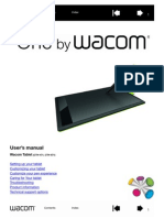 OnebyWacom User Manual 2013