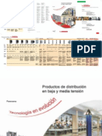 Productos Distribución BT y MT SE