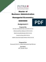 Q1 - Shareholders Wealth-Maximization