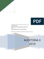Auditoria Especifica Datacenter-Sistema Unificado-Voip